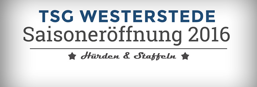TSG Westerstede Saisoneröffnung