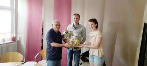 Verabschiedung Berndt Erben Leichtathletik TSG Westerstede