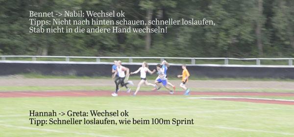 TSG Westerstede Leichtathletik Staffellauf