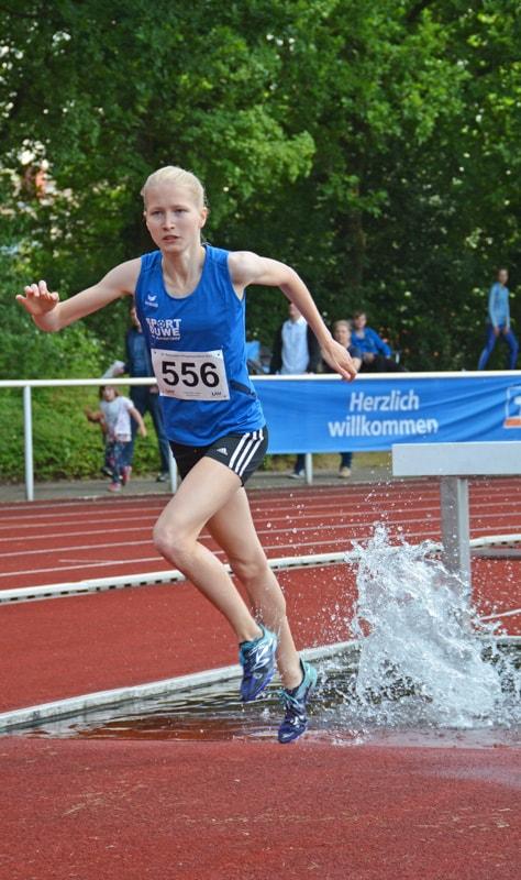 Josina Papenfuß erneut in guter Form - TSG Westerstede